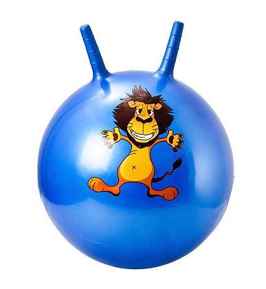 Мяч гимн. Alpha Caprice с двумя ручками 70 см. синий