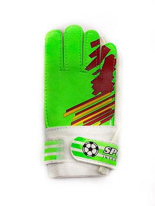 Вратарские перчатки зелёные Sz.5