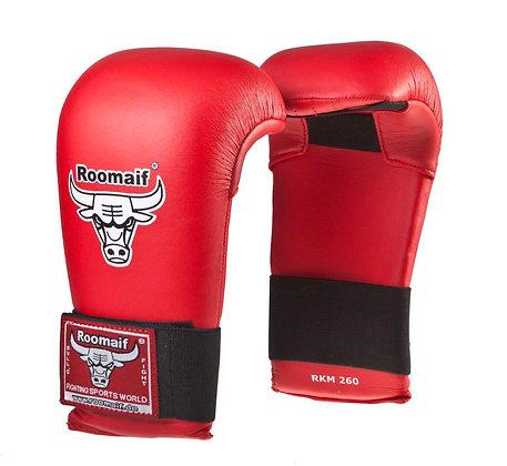 Спарринговые перчатки для каратэ Roomaif 260 ПУ красные