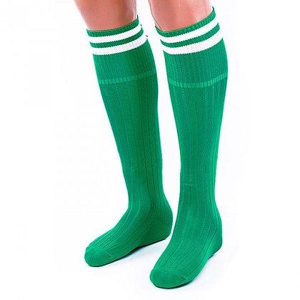 Гетры Ditang зелёные с белыми полосами