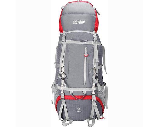 Рюкзак «Юкон» 95 V2 серо/красный 11203