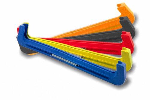 Чехлы для коньков MARAX на пружинах разноцветные