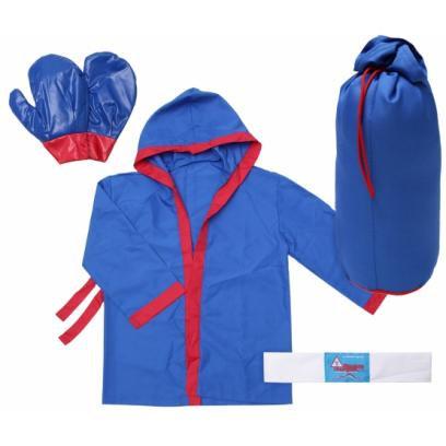 Набор детский боксерский № 3 (перчатки, груша, повязка, халат)