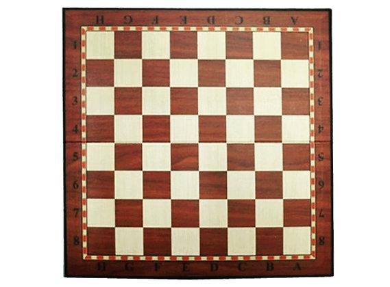 Доска картонная для игры в шахматы, шашки 09280