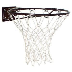Сетка баскетбольная бело-чёрная