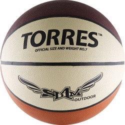 Мяч баскетбольный TORRES Slam B00067