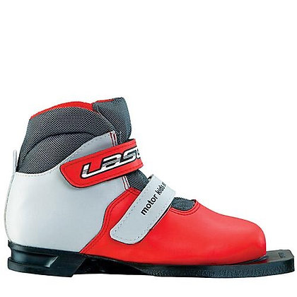 Ботинки лыж. MOTOR LASER красно-серые