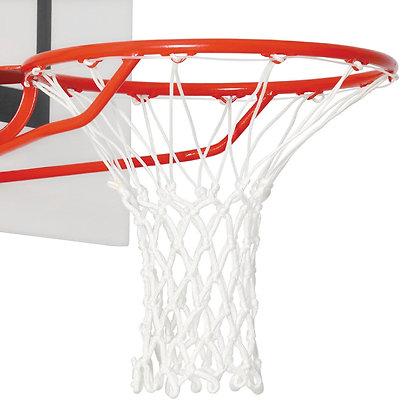 """Сетка баскетбольная """"Basketball Net"""" белая"""