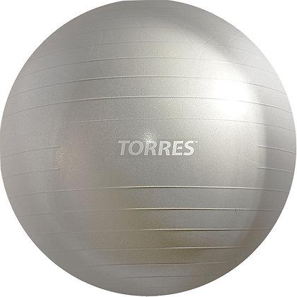 Мяч для фитнеса AL100175 75 см. серебро антивзрыв