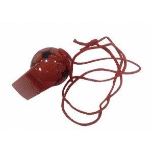 Свисток пластм. с мячиком 27830