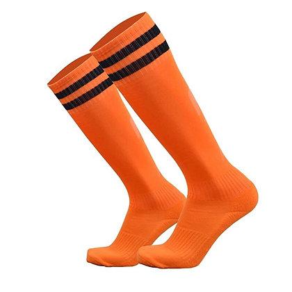 Гетры T-star оранжевые с чёрными полосами
