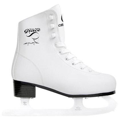 Коньки фигурные ICEBERGER Grace fur white