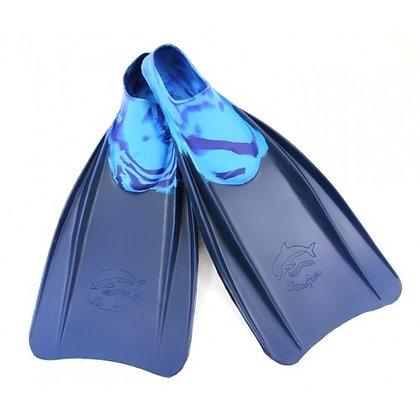 Ласты Дельфин синие