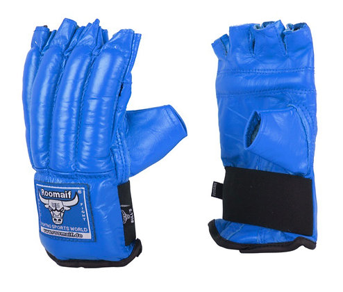 Перчатки снарядные Roomaif RBM 128 blue