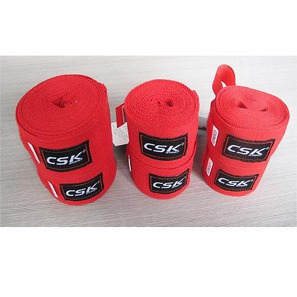 Бинт боксёрский CSK красный 2,5 м