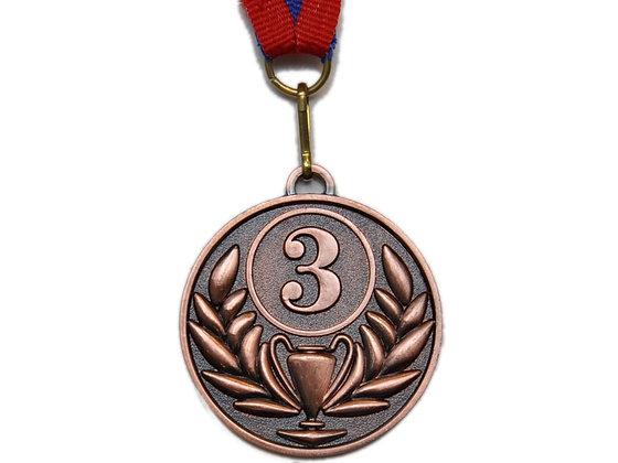 Медаль 3 бронза 16610