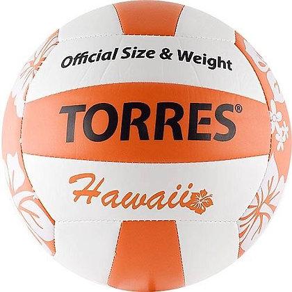Мяч для пляжного волейбола TORRES Hawaii V30075B