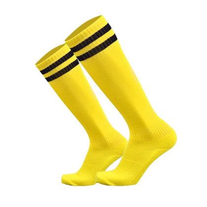 Гетры T-star желтые с чёрными полосами