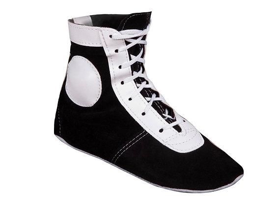 Самбовки E013 black/white