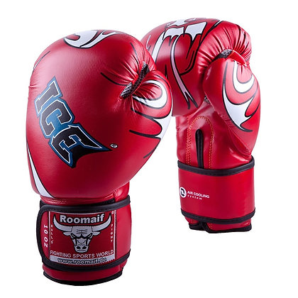 Перчатки боксёрские Roomaif 149 08 oz Dx red