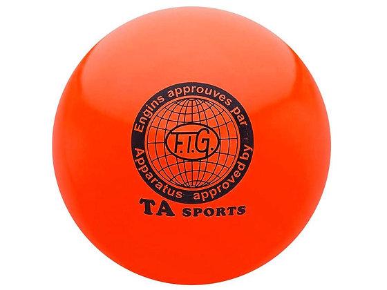 Мяч для худ. гимнастики FIG, d.15 см, red