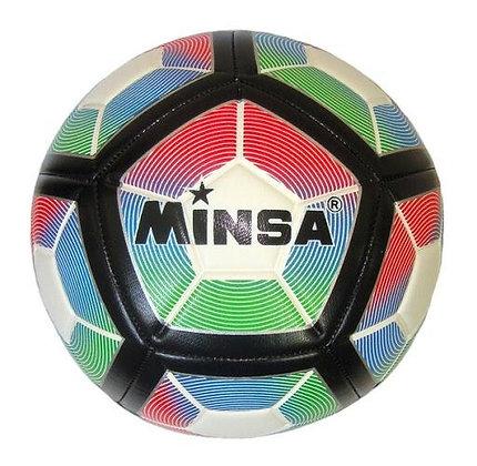 Мяч футбольный Minsa 5-9060
