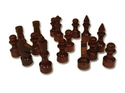 Фигуры шахматные (лакированные, деревянные):