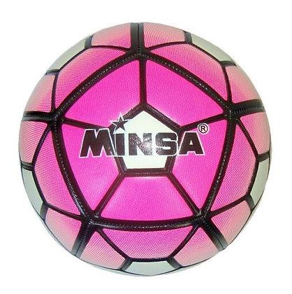 Мяч футбольный Minsa 5-9041