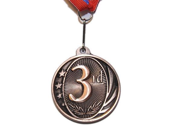 Медаль 3 бронза 31327