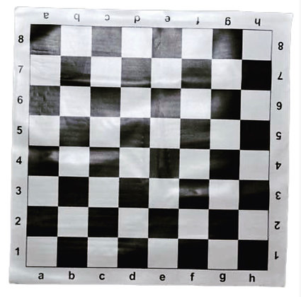Доска шахматная виниловая