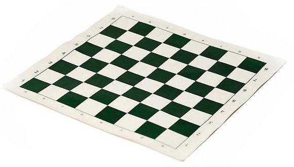 Доска шахматная виниловая зелёная
