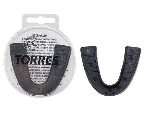 Капа TORRES чёрная 1021