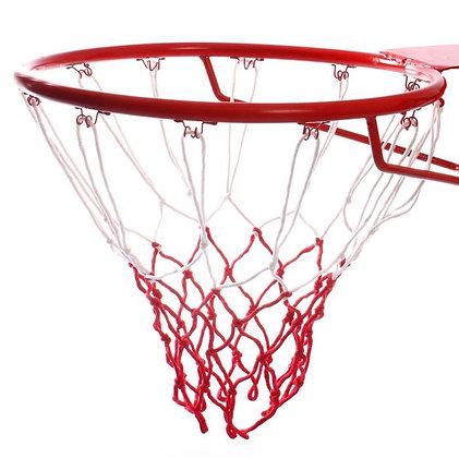 Сетка баскетбольная AOQIANG № 913 красно-белая