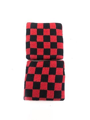 Напульсник CROUSE 148 красно-чёрный