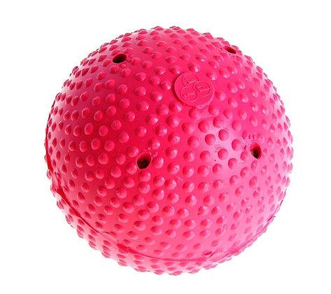 Мяч хок. на льду розовый