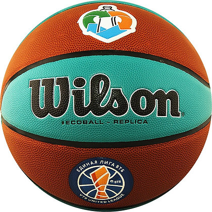 Мяч баскетбольный WILSON 1534 VTB Replica ASG ECO р.7