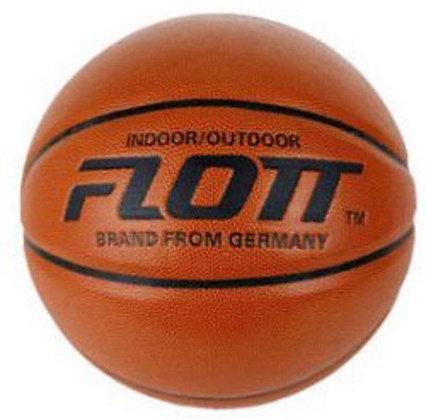 Мяч баскетбольный FLOTT leather р.7
