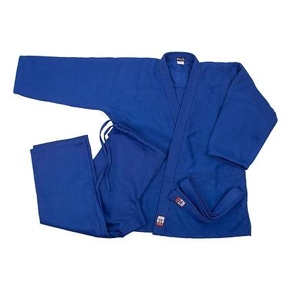 Кимоно для дзюдо Боець БКД-450С синие
