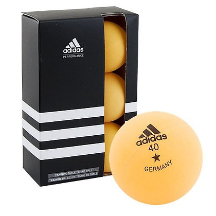 Шарик для н/т 6 шт. жёлт. Adidas 1*