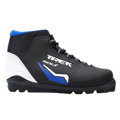 Ботинки лыж.Trek Тендер Soul SNS ИК  черный лого синий