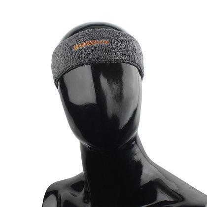 Повязка на голову BF-003 тёмно-серая