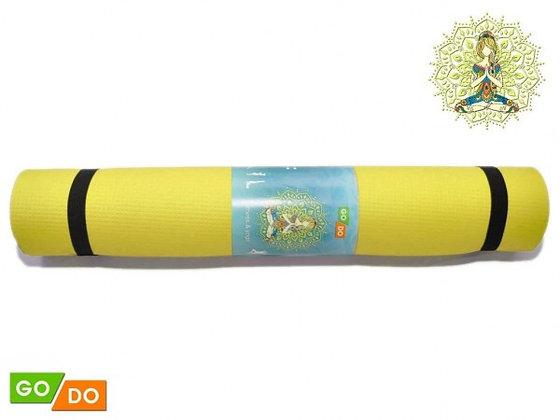 Коврик для йоги и фитнеса Go Do 173*61*0,3см (5 цветов)