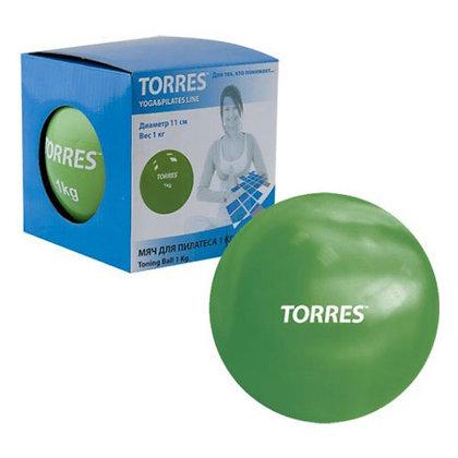 Мяч для пилатеса Torres 1 кг.