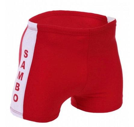 Шорты самбо 7334 красные
