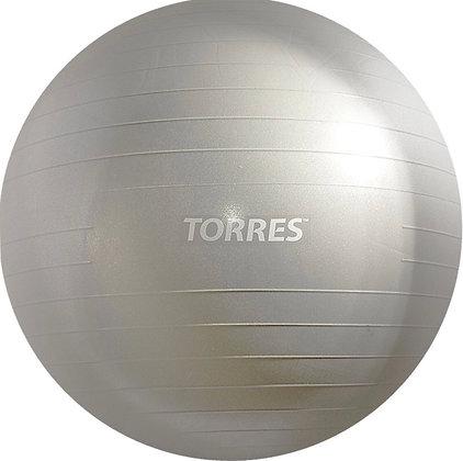 Мяч для фитнеса TORRES AL100185 85 серебро антивзрыв