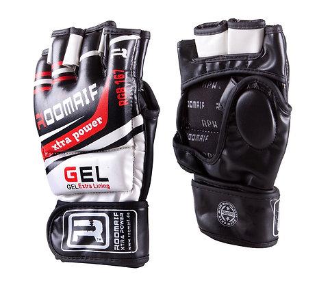Перчатки для единоборств Roomaif MMA кожа RBBG-156 /RBBG-167