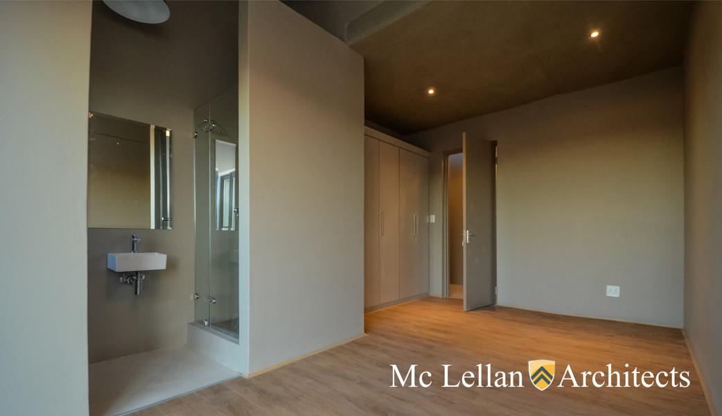 Mc Lellan Architect custom design of spa