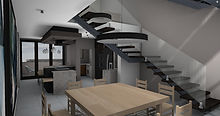 apartment triplex stach design townhouse