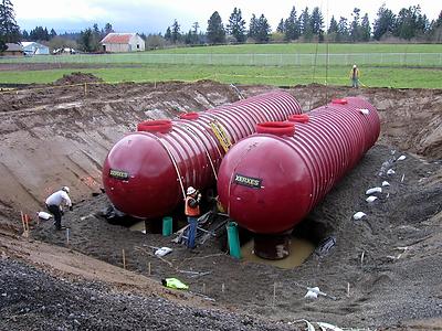 Fiberglass Wastewater Tanks