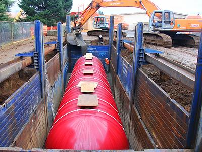 Fiberglass Wastewater Tank